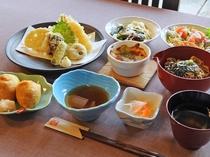 【お食事処・喫茶「龍頭の里」】レストランメニュー一例 -そば里 御膳ー