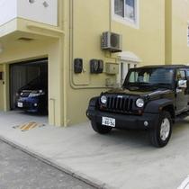 駐車場は2台分