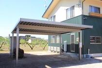 屋根付き駐輪スペース