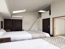 【フォレストステージ】2階ベッドルーム