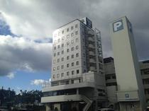 センターホテル三原外観