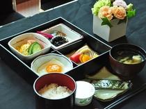 【朝食一例】和食