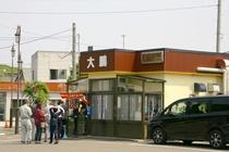 行列必至の人気ラーメン店、大鵬さん。