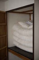 1階和室にお布団を敷くこともできます