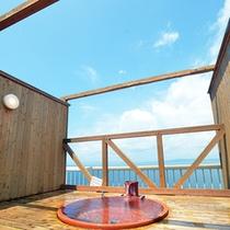 橘湾を一望 最上階貸切露天風呂
