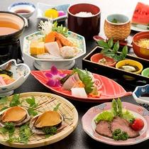海の幸を中心に 四季折々旬の食材を