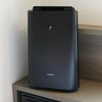 プラズマクラスター加湿空気清浄機を全客室に設置