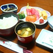 *ご朝食一例/朝からしっかり食べて元気をチャージ!和定食をご用意致します。