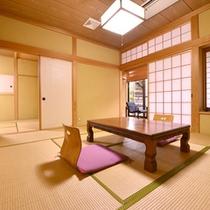 *露天風呂付客室(一例)/ファミリー・グループに人気!広めのお部屋でゆっくり寛げます。