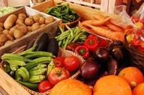 つみたて農園の自家製野菜
