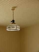 レトロ照明(部屋内)