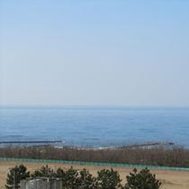 *【展望台からの眺め】日本海が一望できます