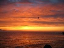 最高の夕日