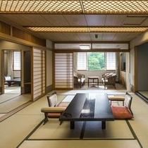 【スペシャルルーム】11階特別フロアに3室のみ設えた客室。和室または和洋室へご案内します※写真は和室