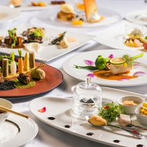 【ZEN一例】地元の伊達野菜や道産ブランド肉などをお楽しみ頂くコースです。(画像は秋メニュー)