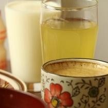 朝食*お飲み物*