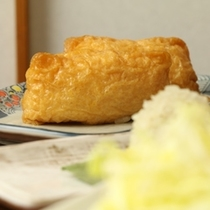 夕食*おいなりさん*