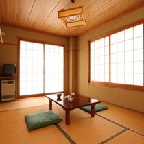 客室~落ち着いた雰囲気の和室です~