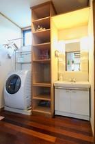 洗濯機&洗面台