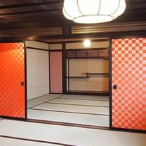 二間続きの和室(2階)