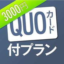 QUO3,000円プラン