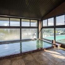 *【3階展望温泉】名峰『鳥海山』の四季折々の姿を眺めながら、天然温泉をお楽しみください。