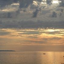 *天気がよければ、山形県の離島『飛鳥』まで見渡せる日も。