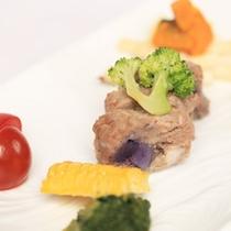 【愛犬夕食/選べる3つのメイン】「鹿肉のハンバーグ」