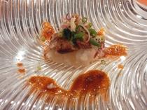 フォアグラの寿司スタイル