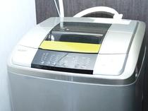*長期滞在や出張の方に、お部屋の洗濯機。