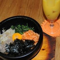 【韓国朝食】ビビンバ2