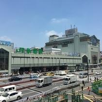 JR新宿駅南口周辺
