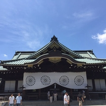 靖国神社 拝殿