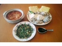 海鮮チゲ鍋プラン