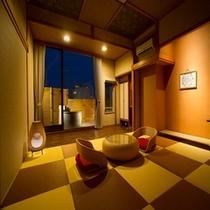 和室10畳・アジアンテイスト露天風呂付客室