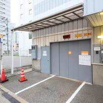 当館タワー式駐車場