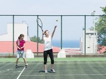 【テニスコート】