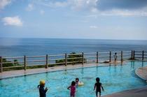 保良川ビーチのおまけプール(無料)