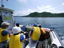 漁船の遊覧船「浦島船」