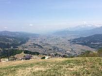 夏の石打丸山でハイキング