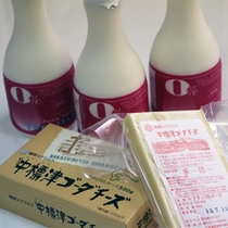 *中標津産の新鮮な乳製品の宝庫♪牛乳、チーズ、お土産にも人気です。