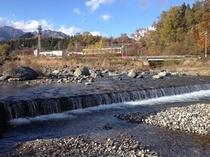 大谷川の流れ