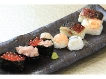 朝から贅沢なお寿司♪