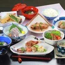 夕食【ゆずりは会席】