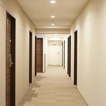 客室階ホール