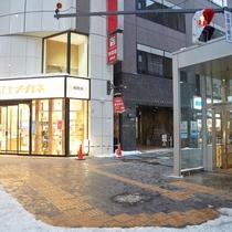 札幌駅前地下歩道空間(チ・カ・ホ)7番出口外