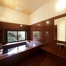 国上100号室 源泉掛け流し付き内風呂