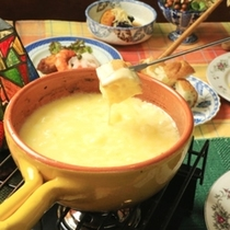 ☆料理_夕食_グレードアップ_チーズフォンデュ (1)