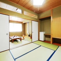 【別館和室】の一例。ご利用人数によりご案内のお部屋をアレンジいたします。