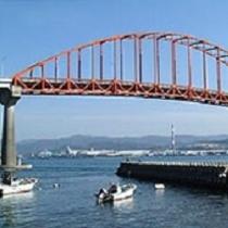 笠戸大橋(ホテルよりお車で約15分)